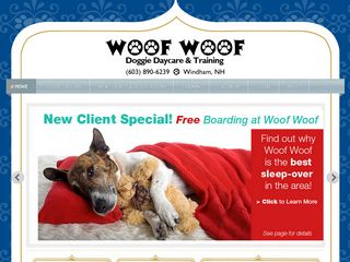 Woof Woof Professional Dog Service | Boarding