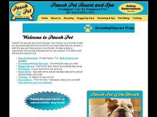 Pawsh Pet Resort and Spa | Boarding