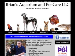 Brians Aquarium and Pet Care | Boarding