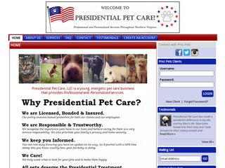 Presidential Pet Care | Boarding