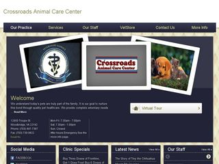 Crossroads Animal Care Center | Boarding