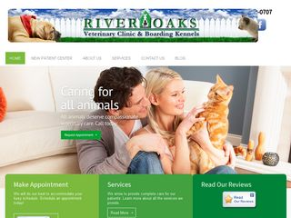 River Oaks Veterinary Clinic | Boarding