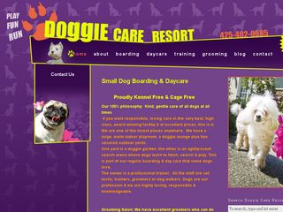 Doggie Care Resort | Boarding