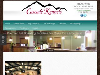 Cascade Kennels Inc. | Boarding