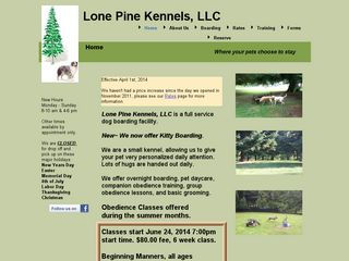 Lone Pine Boarding Kennels LLC | Boarding