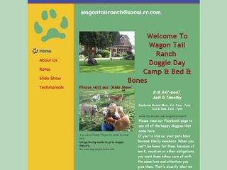 Wagon Tail Ranch Doggie Day Camp Woodland Hills