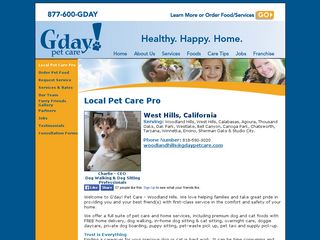 G'day Pet Care Woodland Hills | Boarding