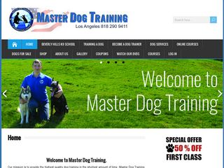Master Dog Training Woodland Hills