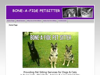 Bone A Fide Pet Sitter Woodside