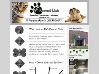 A B Kennel Club | Boarding