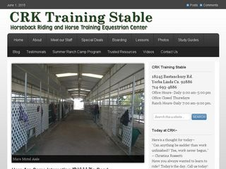 CRK Training Stable | Boarding