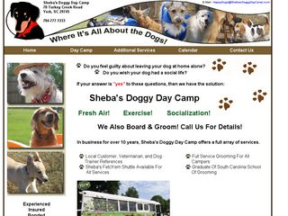 Shebas Doggy Day Camp | Boarding