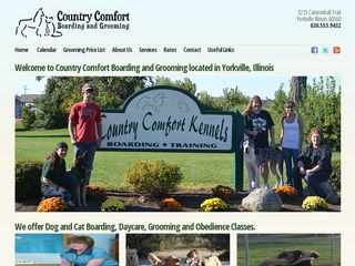 Country Comfort Kennels Incorporated Yorkville